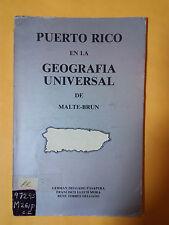 Puerto Rico en la geografia universal - German Delgado Pasapera - 1979