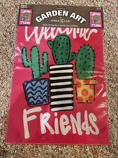 Nip Spring Summer Welcome Friends Fun Cactuses Cactus Mini Garden Flag 12�x18�