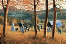 Robert Duncan Fall in the Kingdom Autumn Cow Art Print  18 x 12