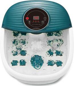 Max Kare Foot Spa/Bath Massager Heat Bubbles Vibration Digital Temperature