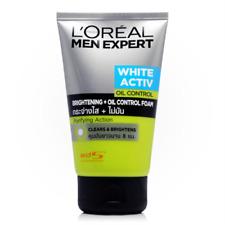 100ml LOreal Paris Men Expert White Activ Oil Control Cleansing Foam Purifying