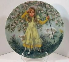Mother Goose Reco 1983 Little Bo Peep Limited Edition Plate John Mclelland