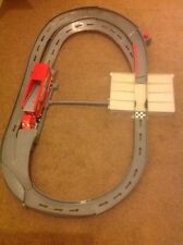 DISNEY THE WORLD OF CARS RACING SET MACK TRACK CHALLENGE MOTORISED