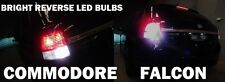 BRIGHT! REVERSE LED Light Bulbs Holden Commodore Ford Falcon Territory SX SY SZ