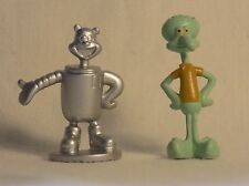 Bob Esponja Figuras, arenoso y Calamardo