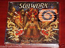 Soilwork: The Panic Broadcast - Deluxe Edition CD + DVD Set 2010 NB Digipak NEW