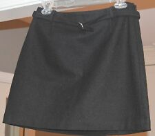 "Womens/Juniors ""The Limited"" Black Mini Skirt Wool Blend Fully Lined SZ 6 *NWT*"