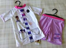 Disney Doc McStuffins ~ Fancy Dress 2Pce Swimming Costume/Swim Tankini ~ 5-6 Yrs