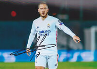 Eden Hazard - Real Madrid - original signiertes Foto 13x18cm - Autogrammfoto