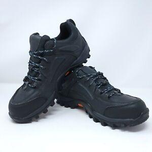 TIMBERLAND PRO  40008  black leather SteelToe WORK / SAFETY SHOES SZ 8 1/2 M
