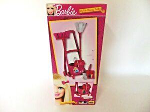 Theo Klein Barbie Besenwagen Kehrbesen Wischmop Kinder Rollenspiel Spielzeug
