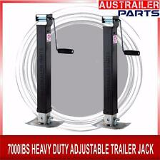 2 X 400MM 7000lBS HEAVY DUTY ADJUSTABLE TRAILER JACK.FOR TRAILER PARTS