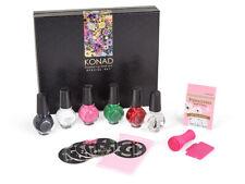 KONAD Stamping Set Special Nailart Nagelstempel Schablone Nail Design Lack NAIL