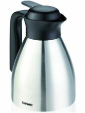 Leifheit Stainless Steel Insulated Jug Thermos Coffee Pot Teapot Jug 0,6 L