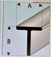 MAQUETT 413-51 Super Styrol T-träger 1.50mm x 1.50mm / 0.2cmx0.2cm x 330mm X 5