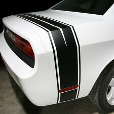 "2008-2013 Dodge Challenger Tail  ""Bumble Bee"" Style Trunk Stripe  Decal kit"