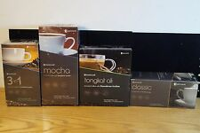 GANO CAFE GANOCAFE 4 BOX VARIETY LOT 3 IN 1 MOCHA TONGKAT OIL CLASSIC NEW
