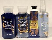 Bath & Body Works - Twilight Woods 4 Pc. Bundle, lotion, hands, shower gel, mist