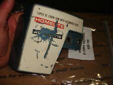 Homelite Super xl automatic clutch cover     chainsaw part bin 1019 blue