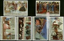 Life of Mozart Piano Music - Set of 6 c60 Y/O Trade Ad Cards