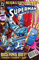 SUPERMAN THE MAN OF STEEL #22 SIGNED BY LOUISE SIMONSON (LG)