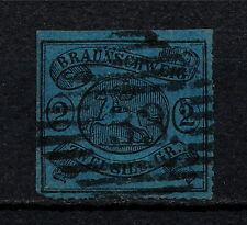 (YYAA 511) Brunswick 1864 USED GERMANY German states