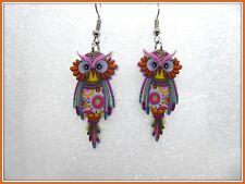 OWL bonsny Orecchini, meravigliosa, danglies, Carino, MODA, Piercing, DROP, idea regalo, Bird