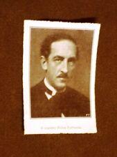 Compositore Maestro Felice Lattuada nel 1928 Morimondo 1882 – Milano 1962