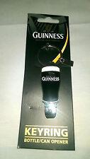 Guinness Bottle Opener Keyring - Official Guinness Product- Ideal Gift