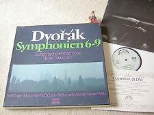 DVORAK Symphonien 6-9 NEUMANN CZECH PO ED1 GER 4LP BOX white SUPRAPHON 86550 XIK
