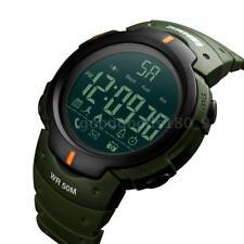 SKMEI Uomo 5ATM Impermeabile Fitness Tracker Fitness Smart Watch BT X0U7