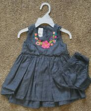 Baby & Toddler Clothing Purposeful Girls Outfit Size 3 Months Sleeveless With Flowers And Butterflies