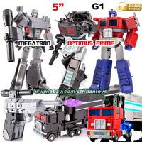 "Transformers Megatron Optimus Prime G1 Jinbao Action Figure 5"" Kids Toy in stock"