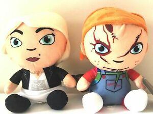 SET of 2 Chucky & Tiffany  Plush Toys Dolls 9.5 inches NWT.