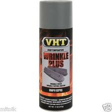 NEW VHT SP205 GRAY WRINKLE PLUS Spray Paint Can Auto Car Valve Cover High Temp