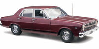1:18 Scale Classic Carlectables Ford XR Falcon GT - Sultan Maroon