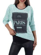 Maglie e camicie da donna bluse verdi casual