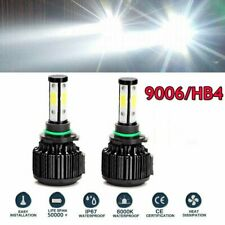 9006 HB4 LED Headlight Bulb High Beam CANBUS 4950000LM 6000K Auto Lamp Lights 2x