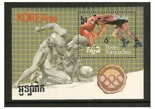 Kampuchéa - 1987 Juegos Olímpicos Hoja-estampillada sin montar o nunca montada-SG MS803