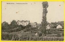 cpa 72 - BRETTE les PINS en 1918 (Sarthe) PAVILLON de la BRAUDIERE Jardins