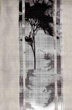 Tenda per finestra Coppia 2 Tende Nera Finestra 60 x 150 cm NERE con laccetto