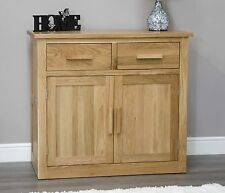 Arden solid oak small storage sideboard living dining room furniture