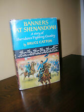 Banners At Shenandoah - Sheridan by Bruce Catton 1955 1st Edition Cavalcade Book