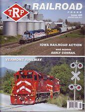 TRP The RAILROAD Press Apr / May / Jun 2011 Iowa East  / Vermont Railway CR Mint