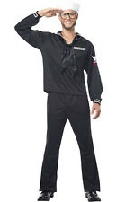 Retro Navy Man Military Outfit Adult Halloween Costume