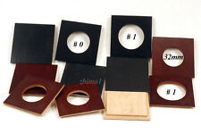"""1 LENS BOARD 64 x 64mm PLYWOOD - FOR GRAFLEX 2-1/4 x3-1/4"""" -undrilled,or Copal#0"""