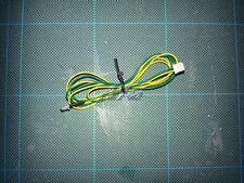 MFU 2 way plug , wire and LED 3mm amber (ORANGE) 70cmlong - fits Tamiya MFU
