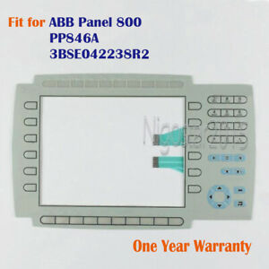 New Membrane Keypad for ABB Panel 800 PP846A  3BSE042238R2 One Year Warranty