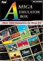 Amiga Emulator Box 1000 Kultspiele PC 2006 Patrizier Hanse Anstoss Cadaver
