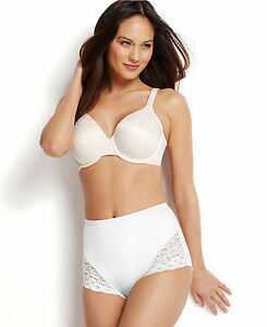 Bali Control Shaping Brief with Lace Trim Style # 8054